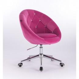 Kreslo Elegance Velur Malina Kreslá, stoličky