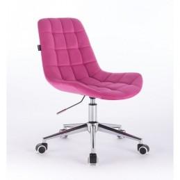 Kozmetická stolička Pretty Velur Malina Kozmetické stoličky