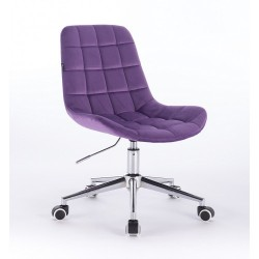 Kozmetická stolička Pretty Velur Violet