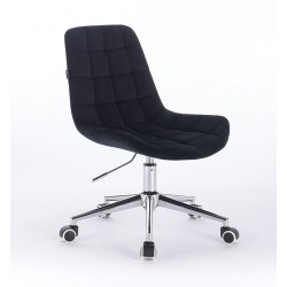 Kozmetická stolička Pretty Velur Black