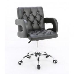 Kozmetická stolička Cariera Black Kozmetické stoličky