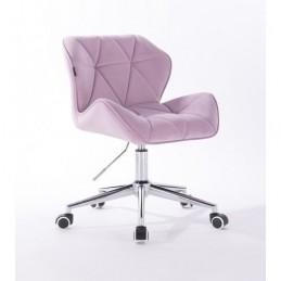 Kozmetická stolička Detail Velur Magma
