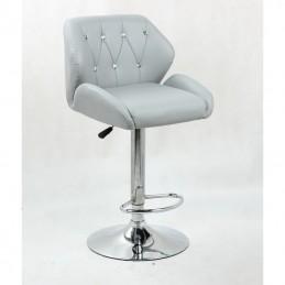 Barová stolička Vanesa Silver Barové stoličky
