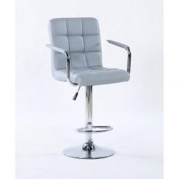 Barová stolička Milady Silver Barové stoličky
