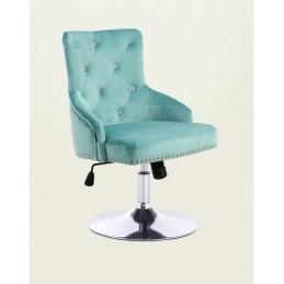 Kreslo Madeira Velur Light Blue Stoličky do čakárne
