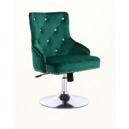 Kreslo Madeira Velur Green Stoličky do čakárne