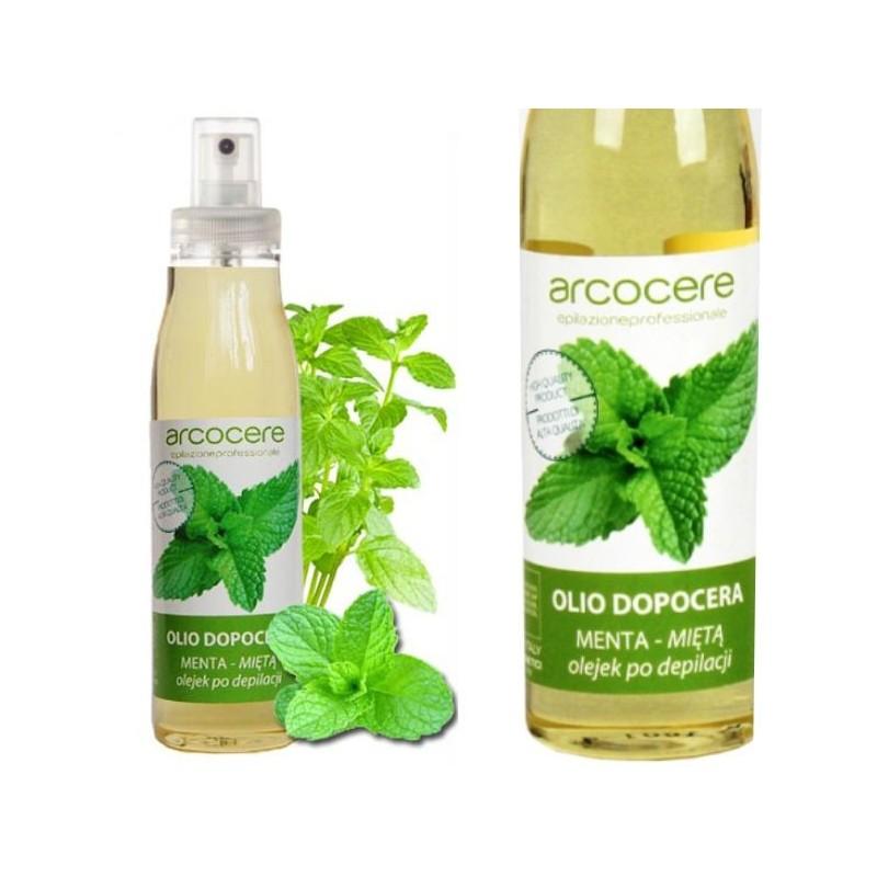 Olej po depilácií s mätou 150ml ARCORCERE Depilačná kozmetika