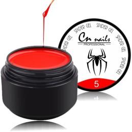 Červený - Spider gel Kategórie