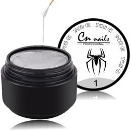 Strieborný - Spider gel Kategórie