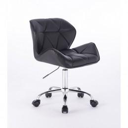 Kozmetická stollička Detail Black Kozmetické stoličky