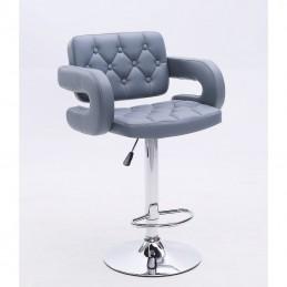Barová stolička Melisa Silver