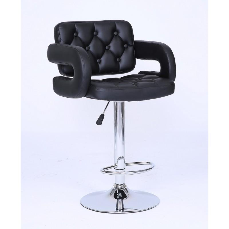 Barová stolička Melisa Black Barové stoličky