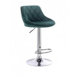 Barová stoličky Apolo Velur Green