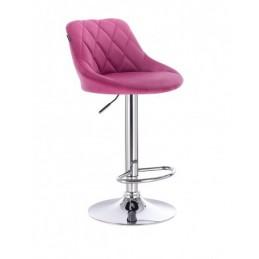 Barová stoličky Apolo Velur Malina
