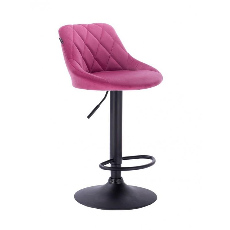 Barová stoličky Apolo Mat Velur Malina Barové stoličky